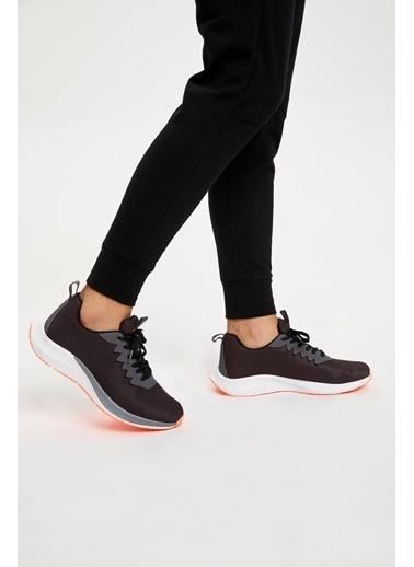 Defacto –Fit Bağcıklı Spor Ayakkabı Antrasit